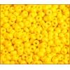 Seedbead Opaque Gold Yellow 4/0